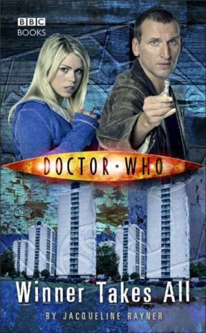 Bestselling Comics (2006) - Doctor Who: Winner Takes All by Jacqueline Rayner - Jacqueline Rayner - Bbc Books - Blue Hoodie - Blonde Hair - Buildings