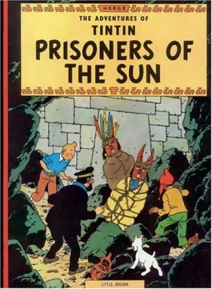 Bestselling Comics (2006) - Prisoners of the Sun (The Adventures of Tintin) by Herge - Tintin - Prisoners Of The Sun - Herge - Finding Indians - Little White Dog