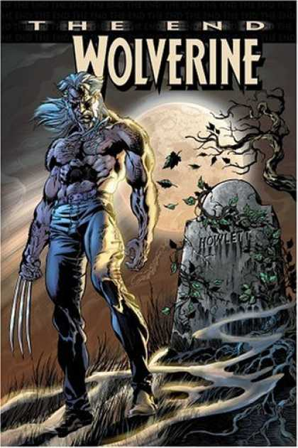 Bestselling Comics (2006) - Wolverine: The End by Paul Jenkins - The End - Grave - Full Moon - Cemetary - Dead Tree