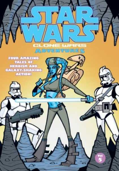 Bestselling Comics (2006) - Clone Wars Adventures. Vol. 5 (Star Wars: Clone Wars Adventures) by Matt Jacobs - Star Wars - Clone Wars - Adventures - Four Amazing Tales Of Heroism And Galaxy Shaking Action - Stormtroopers
