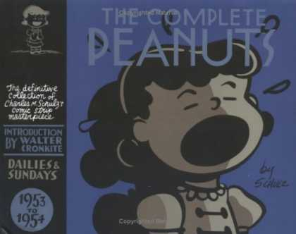 Bestselling Comics (2006) - The Complete Peanuts 1953-1954 by Charles M. Schulz - The Complete Peanuts - Walter Cronkite - 1953 - 1954 - Peanuts