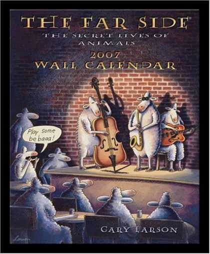Bestselling Comics (2006) - The Far Side 2007 Wall Calendar: The Secret Lives of Animals by Gary Larson