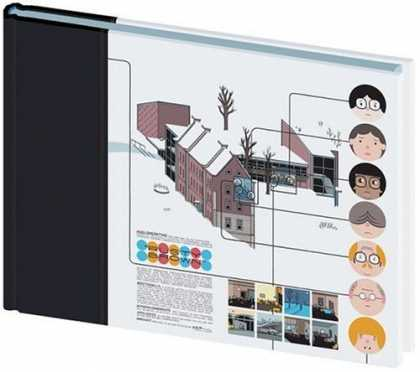 Bestselling Comics (2006) - The ACME Novelty Library #16 by Chris Ware - House - Black - White - Circle - Words