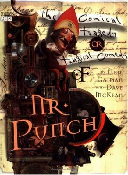 Bestselling Comics (2006) - Mr. Punch by Neil Gaiman - Mr Punch - The Comical Tragedy - Tragical Comedy - Wheel Chair - Dc Comics Vertigo