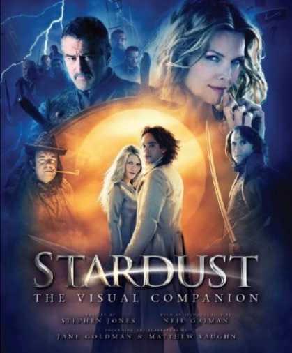 Bestselling Comics (2007) - Stardust: The Visual Companion (Stardust) by Stephen Jones - Michelle Pfeifer - Robert De Niro - Stardust - Fantasy - Neil Gaiman