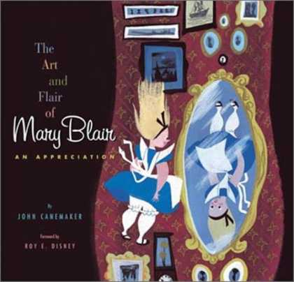 Bestselling Comics (2007) - Art And Flair Of Mary Blair, The by John Canemaker - Upside Down - Mirror - Alice In Wonderland