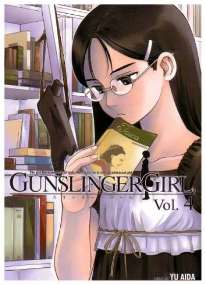 Bestselling Comics (2007) - Gunslinger Girl, Volume 4 by Yu Aida