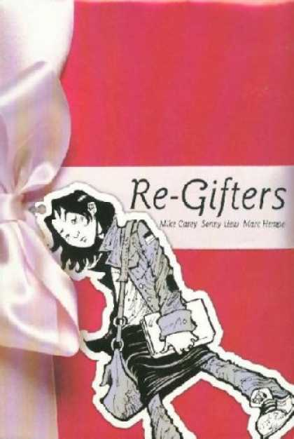 Bestselling Comics (2007) - Re-Gifters (Minx) by Mike Carey - Re-gifters - Bow - Teenage Girl - Laptop - Shoulder Bag