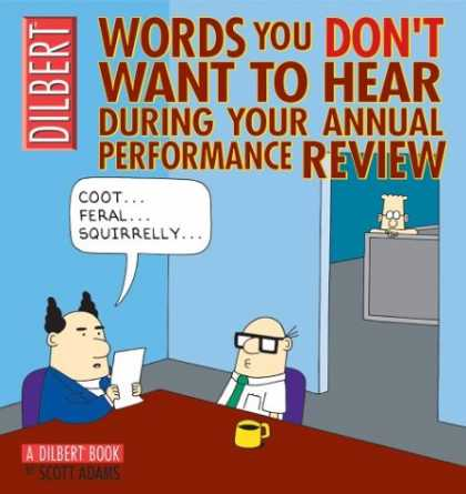 Bestselling Comics (2007) - Words You Don't Want to Hear During Your Annual Review: A Dilbert Book by Scott