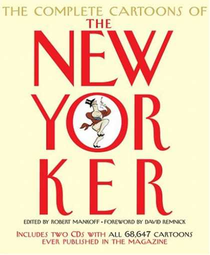 Bestselling Comics (2007) - The Complete Cartoons of The New Yorker - Newyorker - Complete Cartoons Of The New Yorker - Robert Mankoff - David Remnick - Included Cds And Cartoons