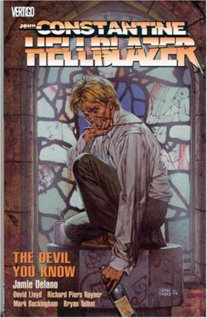 Bestselling Comics (2007) - Hellblazer: The Devil You Know (Hellblazer (Graphic Novels)) by Jaime Delano