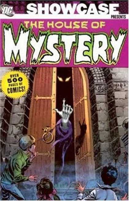 Bestselling Comics (2007) - Showcase Presents: House of Mystery, Vol. 1 by Len Wein - Fire Eyes - Skeletal Hand Beckoning - Open Door - Children - Evil