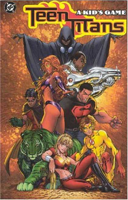 Bestselling Comics (2007) - Teen Titans Vol. 1: A Kid's Game by Geoff Johns