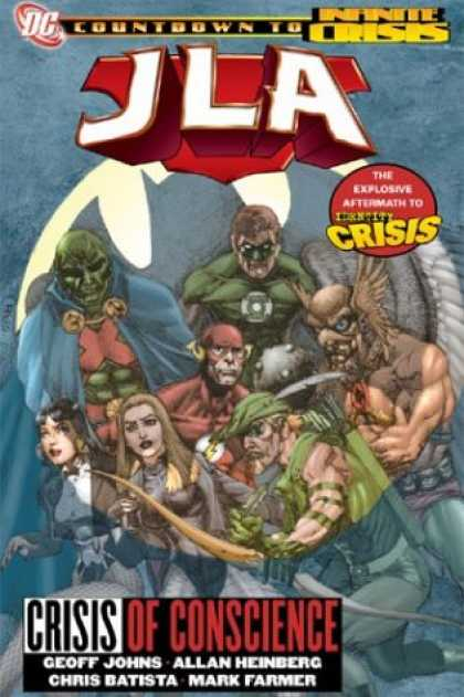 Bestselling Comics (2007) - JLA: Crisis of Conscience (Identity Crisis) (Countdown to Infinite Crisis) by Ge