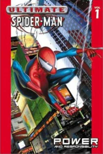 Bestselling Comics (2007) - Ultimate Spider-Man Vol. 1: Power and Responsibility by Brian Michael Bendis - Ultimate Spider-man - Volume 1 - Buildings - City - Power And Responsibility