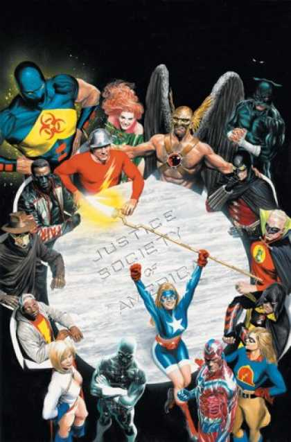 Bestselling Comics (2007) - Justice Society of America: The Next Age - Volume 1 by Geoff Johns