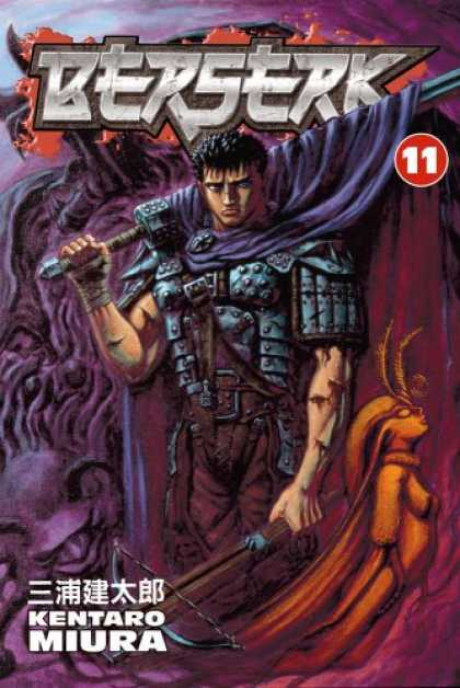 Bestselling Comics (2007) - Berserk, Volume 11 by Kentaro Miura - Fight With Nife Man - Knight With Nife - Young Looking - No 120-109 Days - Hi Where We Are