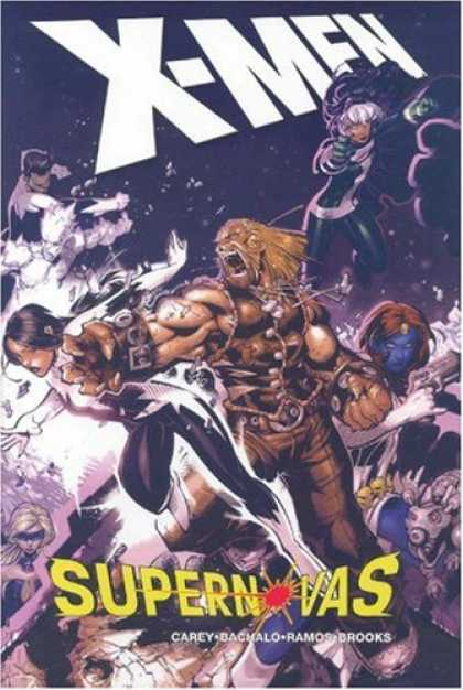Bestselling Comics (2007) - X-Men: Supernovas by Mike Carey - Marvel - Marvel Comics - X-men - Supernovas - Super Heroes