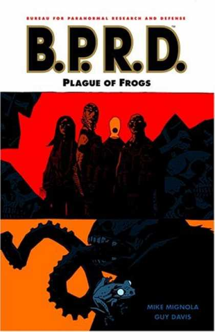Bestselling Comics (2007) - B.P.R.D. Volume 3: Plague of Frogs by Mike Mignola - Plague Of Frogs - Bprd - Bureau For Paranormal Research And Defense - Guy Davis - Mike Mignola