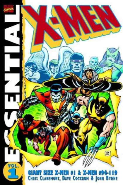 Bestselling Comics (2007) - Essential X-Men, Vol. 1 (Marvel Essentials) by Chris Claremont - X-men - Essential - Chris Claremont - Wolverine - Colossus