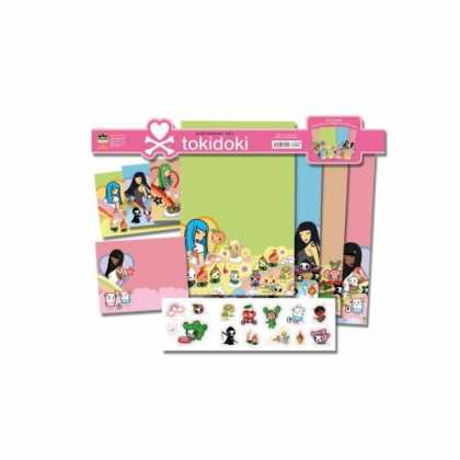 Bestselling Comics (2007) - Tokidoki Stationery Set by Tokidoki - Heart - Stuffs - Girls - Notebooks - Ruler
