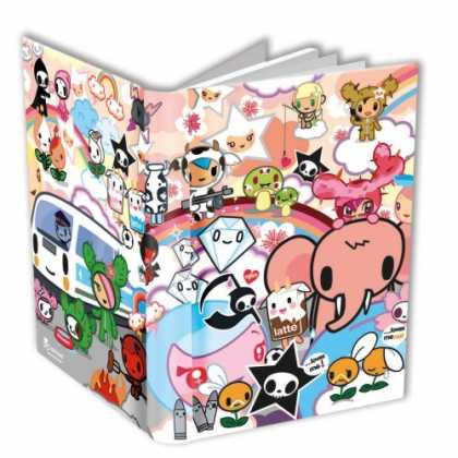 Bestselling Comics (2007) - Tokidoki Journal by Tokidoki - Book - Cover - Monsters - Bus - Cuties