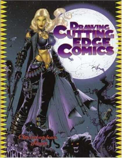 Bestselling Comics (2007) - Drawing Cutting Edge Comics by Christopher Hart - Black Cat - Moon - Twisted Branches - Blonde - Night Sky