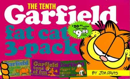 Bestselling Comics (2007) - Garfield Fat Cat 3-Pack #10: Contains: Garfield Life in the Fat Lane (#28); Garf - Jim Davis - Garfield - Tone Of Fun - Fat Cat - 3-pack