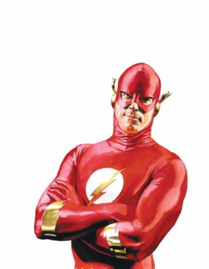 Bestselling Comics (2007) - The Flash: The Greatest Stories Ever Told by John Broome - Super Hero - Red - Suit - Lightning - Costume