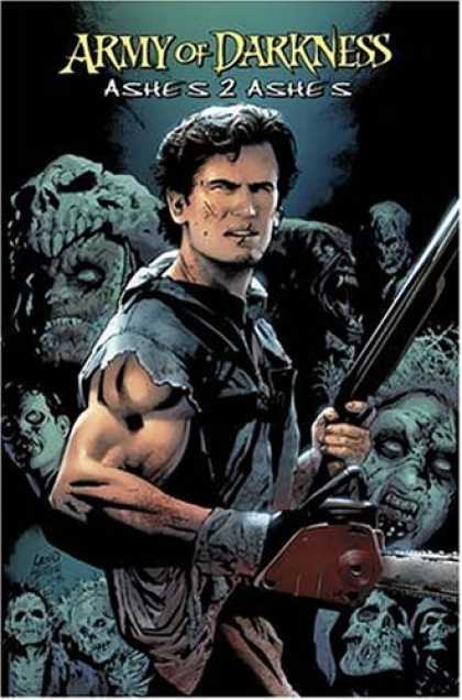 Bestselling Comics (2007) - Army Of Darkness: Ashes 2 Ashes by Andy Hartnell - Scars - Fight - Sword - Darkness - Beast