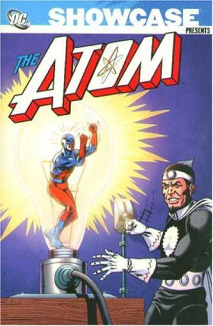 Bestselling Comics (2007) - Showcase Presents: The Atom, Vol. 1 by Gardner Fox - The Atom - Atom - Atom In Danger - Atome Lightbulb - Resize