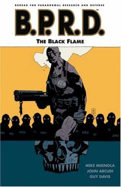 Bestselling Comics (2007) - B.P.R.D. Volume 5: The Black Flame by Mike Mignola - Bprd - The Black Flame - War - Mike Mignola - John Arcudi