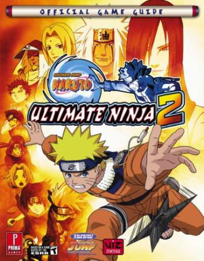 Bestselling Comics (2007) - Naruto Ultimate Ninja 2: Prima Official Game Guide (Prima Official Game Guides)