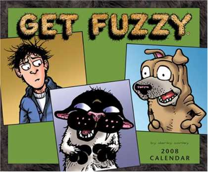Bestselling Comics (2007) - Get Fuzzy: 2008 Wall Calendar by Darby Conley - Get Fuzzy - Dog - Photos - 2008 Calendar - Sunglasses