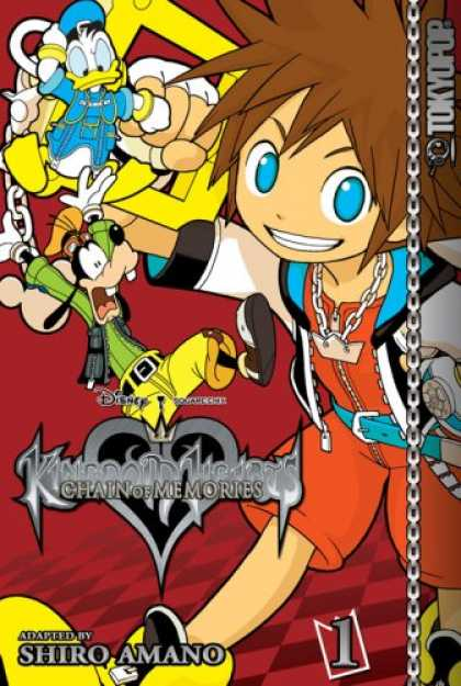 Bestselling Comics (2007) - Kingdom Hearts: Chain of Memories Volume 1 (Kingdom Hearts (Graphic Novels)) by