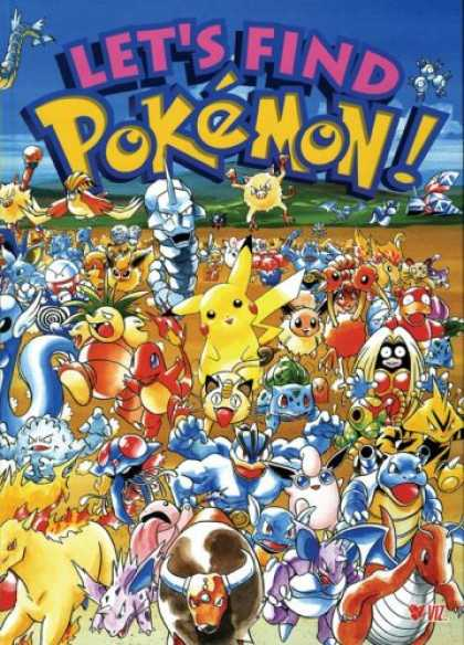 Bestselling Comics (2007) - Let's Find Pokemon! Special Complete Edition: Find Pokemon SP ED by Kazunori Aih