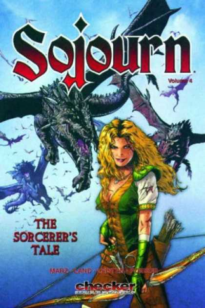 Bestselling Comics (2007) - Sojourn Volume 5: A Sorcerer's Tale (Sojourn) by Ian Edgington - Sojourn - The Sorcerers Tale - Arrow - Checker - Marz Land