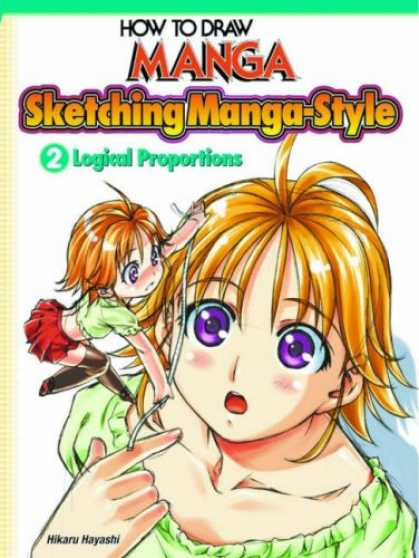 Bestselling Comics (2007) - How To Draw Manga: Sketching Style Volume 2 (How to Draw Manga) by Hikaru Hayash