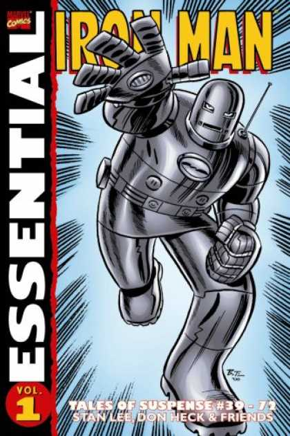 Bestselling Comics (2007) - Essential Iron Man, Vol. 1 (Marvel Essentials) by Stan Lee - Essential - Robot - Vol 1 - Tales Of Suspense - Marvel Comics