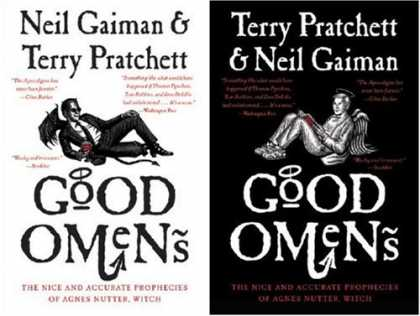 Bestselling Comics (2007) - Good Omens: The Nice and Accurate Prophecies of Agnes Nutter, Witch by Neil Gaim - Niel Gaiman - Terry Pratchet - Agnes Sutter - Graphic Novel - Angel Devils