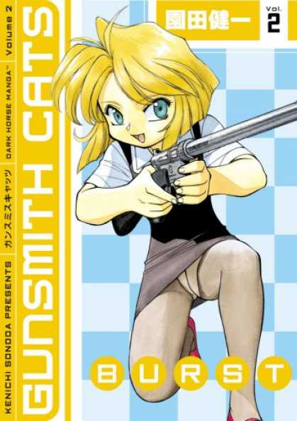 Bestselling Comics (2007) - Gunsmith Cats Burst Volume 2 (Gunsmith Cats Burst) by Kenichi Sonoda - Volume 2 - Gunsmith Cats - Dark Horse Manga - Kenichi Sonoda - Burst