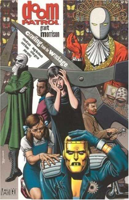 Bestselling Comics (2007) - Doom Patrol, Book 1: Crawling From the Wreckage by Grant Morrison