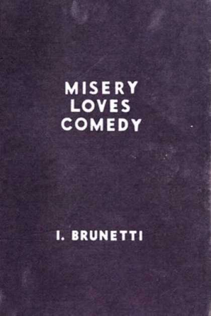 Bestselling Comics (2007) - Misery Loves Comedy by Ivan Brunetti