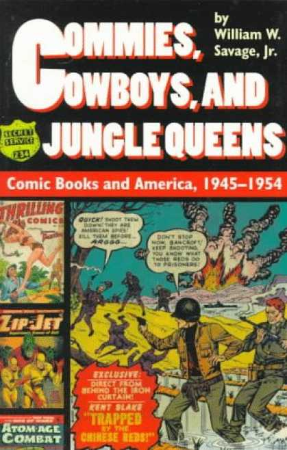 Bestselling Comics (2007) - Commies, Cowboys, and Jungle Queens: Comic Books and America, 1945-1954 by Willi - War - Explosion - Guns - Water - Smoke