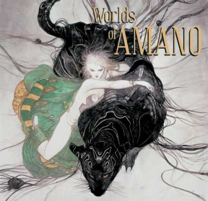 Bestselling Comics (2007) - Worlds Of Amano by Yoshitaka Amano - Worlds Of Amano - Woman - Cloth - Monster - Panter