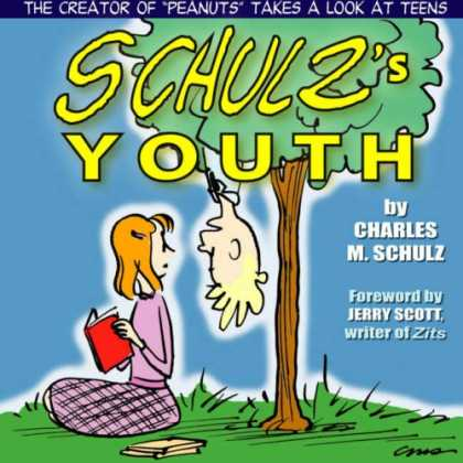 Bestselling Comics (2007) - Schulz's Youth by Charles M. Schulz - Boy - Tree - Girl - Book - Grass
