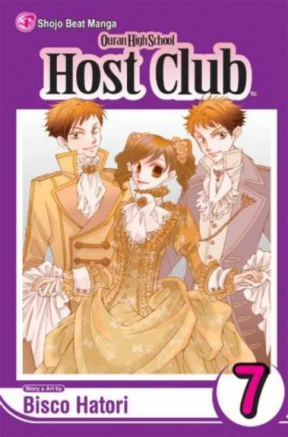 Bestselling Comics (2007) - Ouran High School Host Club, Volume 7 by Bisco Hatori