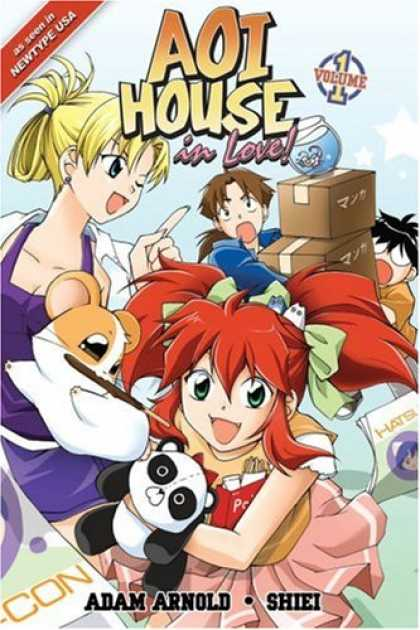 Bestselling Comics (2007) - Aoi House In Love Volume 1 (Aoi House in Love!) by Adam Arnold - Aoi House - In Love - Anime - Volume 1 - Chaos