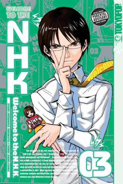 Bestselling Comics (2007) - Welcome to the N.H.K., Volume 3 by Kendi Oiwa