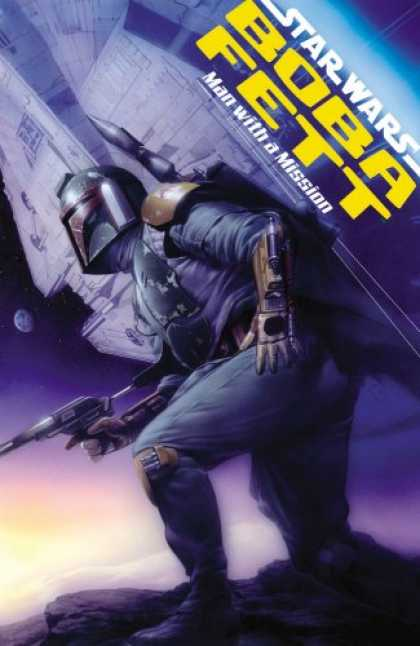 Bestselling Comics (2007) - Man with a Mission (Star Wars: Boba Fett) by Thomas Andrews - Man - Mission - Space - Sneak - Ship